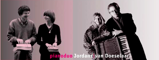 Pianoduo Jordans / Van Doeselaar
